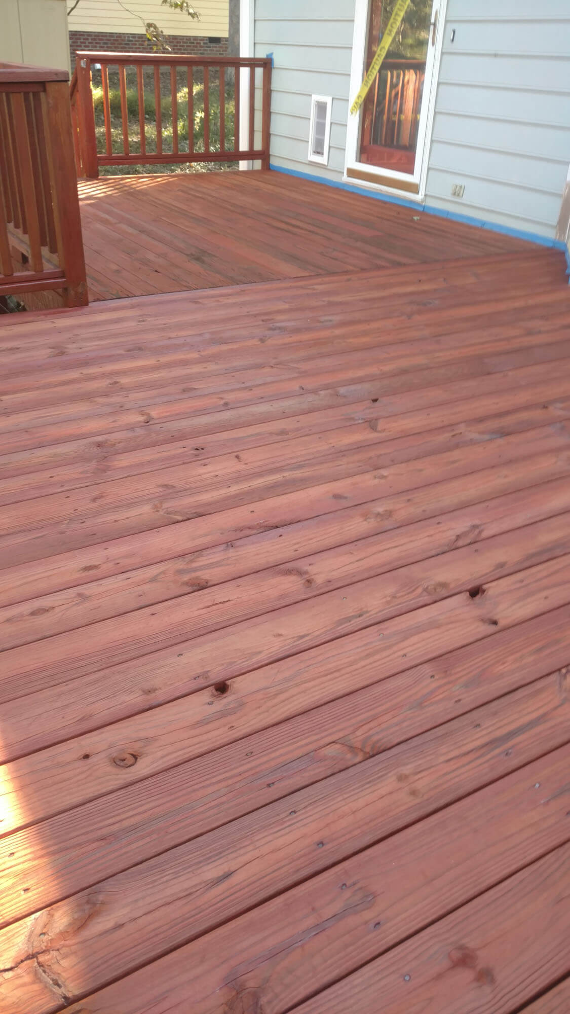 deck restoration pine state power washing. Black Bedroom Furniture Sets. Home Design Ideas