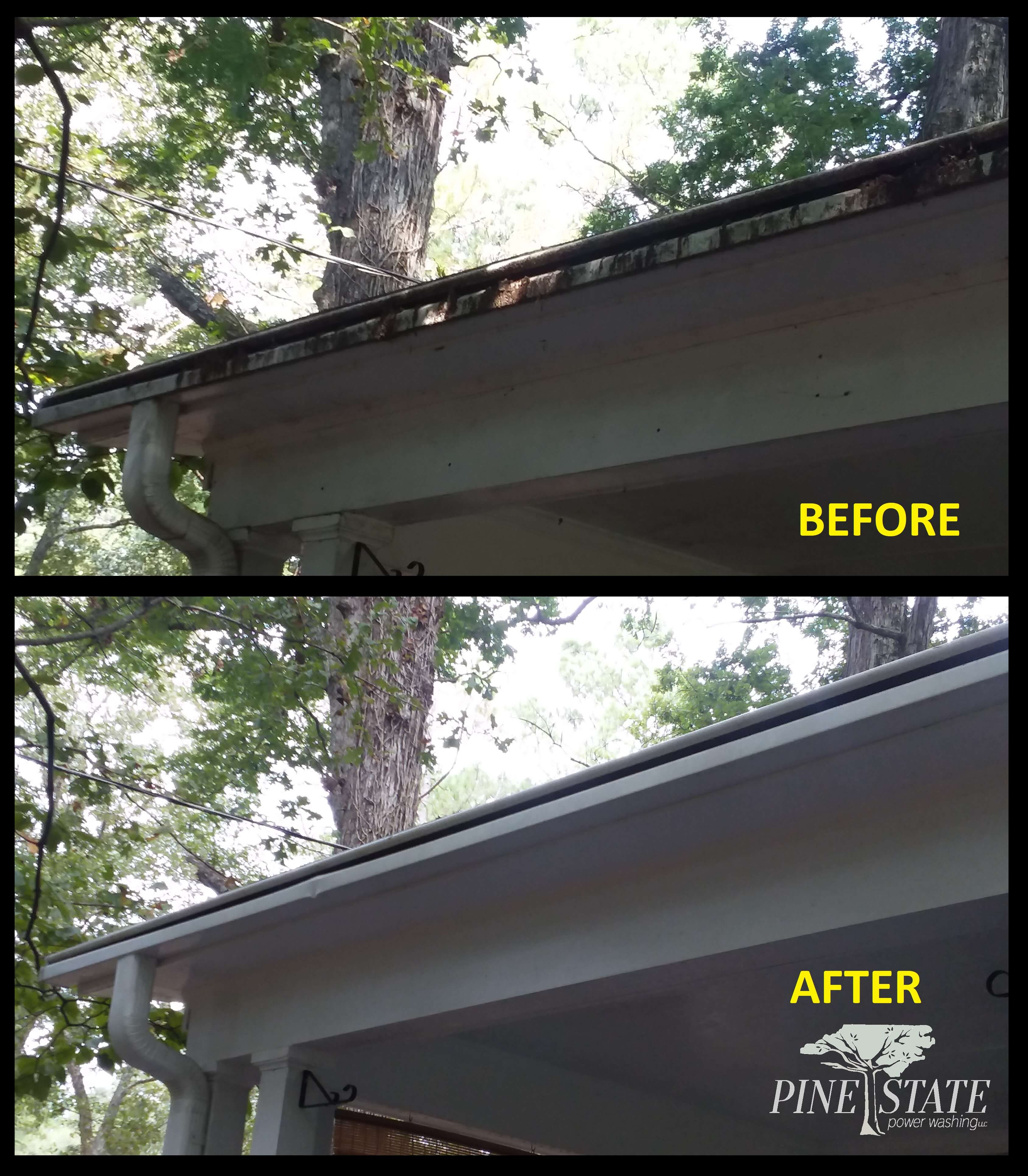 Gutters Amp More Pine State Power Washing